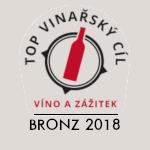 Bronzový TOP vinařský cíl 2018