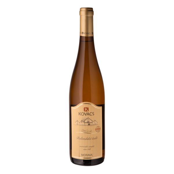 Rulandské šedé 0,75 moravské zemské víno 60/18 Kovacs Morava
